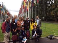 Palais de Nations, UN office, Geneva,  2014