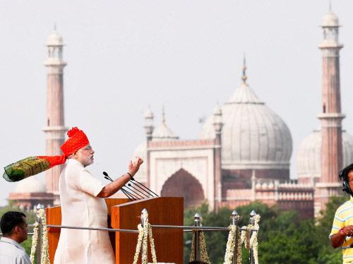 Modi-fied India: PM Narendra Modi scores from Red Fort