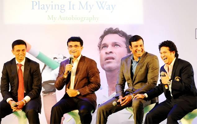 Fab Four of Indian cricket - Dravid, Ganguly, Laxman and Tendulkar.
