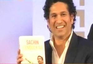 Sachin Tendulkar's autobiography 'Playing It My Way' released