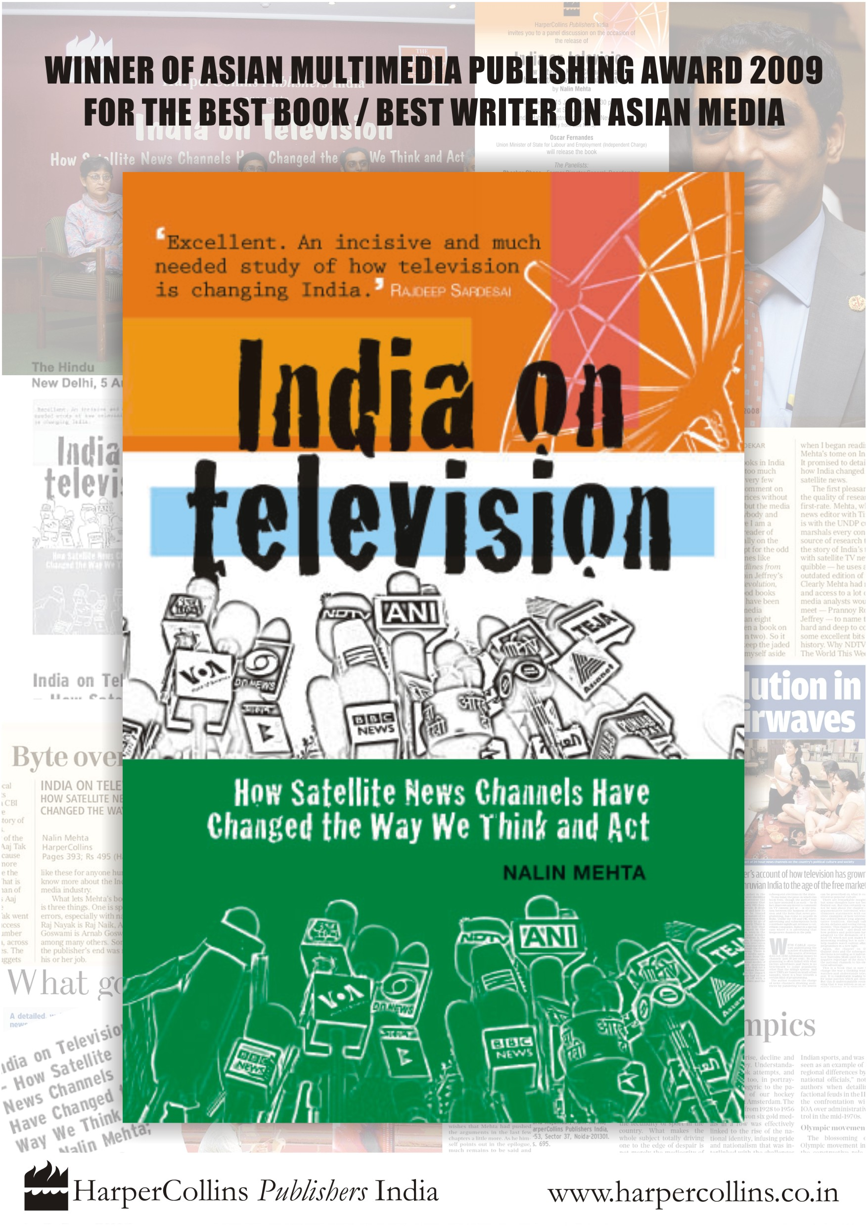 India on Television: How Satellite News Channels Changed the Way We Think and Act