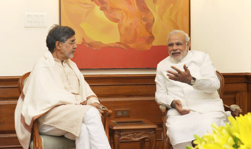I don't visit temples — i worship children, true faces of God: Kailash Satyarthi