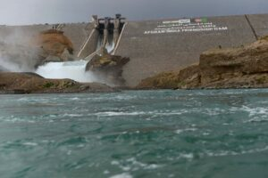 Salma Hydroelectric Dam seen at Chishti Sharif in Afghanistan's Herat province (Picture courtesy: AFP/Aref Karimi)