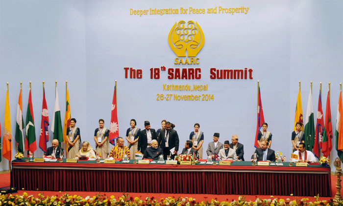 China doesn't belong to south Asia