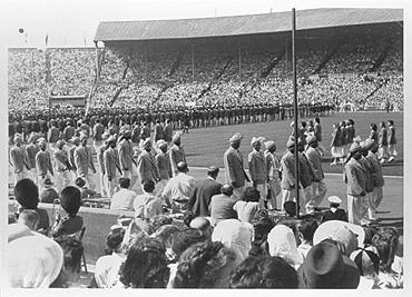 Peasants On The Athletics Track