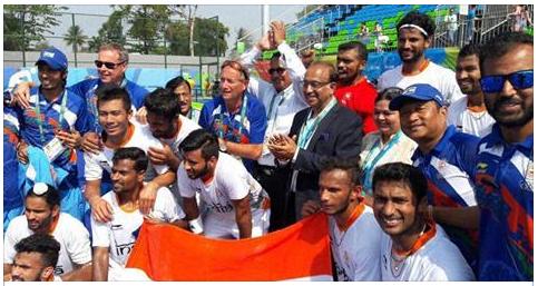 Rio gets taste of Delhi's VIP culture with Vijay Goel