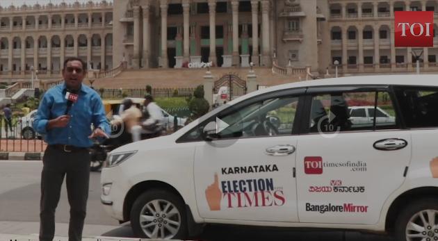 Nalin Mehta's election travelogue series for Times Group